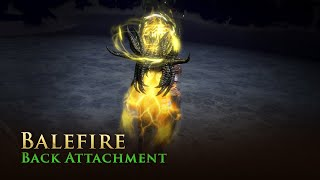 Path of Exile: Balefire Back Attachment
