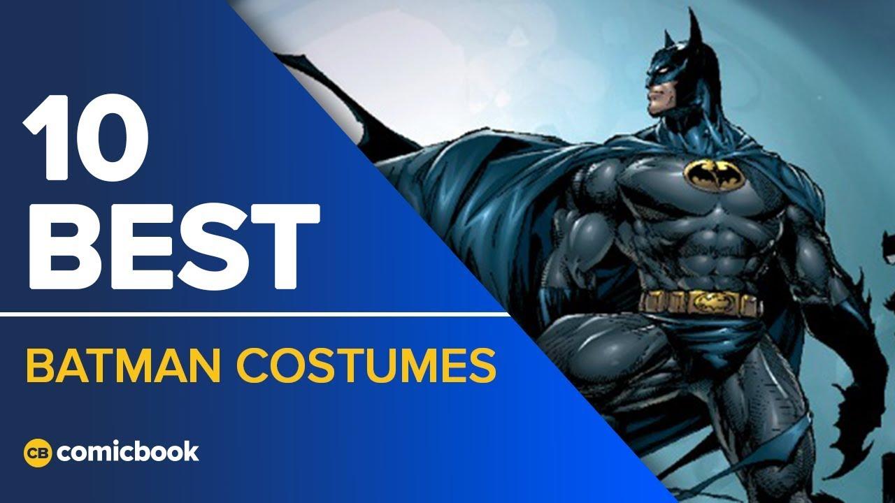 10 Best Batman Costumes & 10 Best Batman Costumes - YouTube