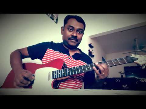 Vellichillum Vithari Thulli Thulli Ozhukum| Guitar|Karaoke|Abraham|Ina|