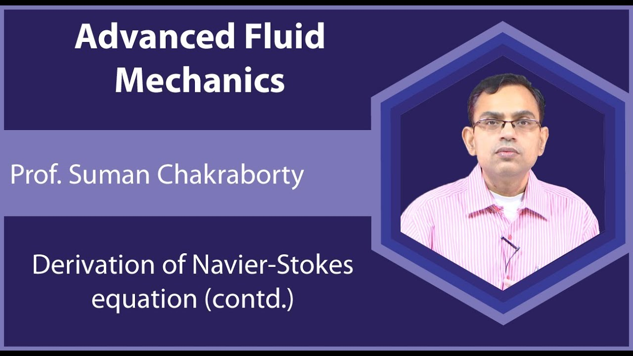 Advanced Fluid Mechanics (Prof  Suman Chakraborty, IIT