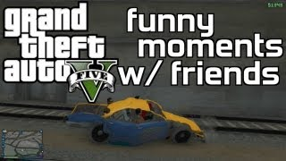 GTA 5 Online Funny Moments (Trolling Delirious, Jerking, Hot Cops)