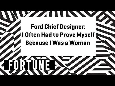 Ford Chief Designer: Being a Female Designer in the Car Industry | Brainstorm Design 2017 | Fortune