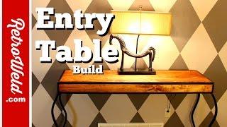 ? Custom Contemporary Table Build