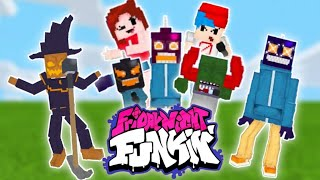 Friday Night Funkin Mod In Minecraft (BE/PE) New Characters!