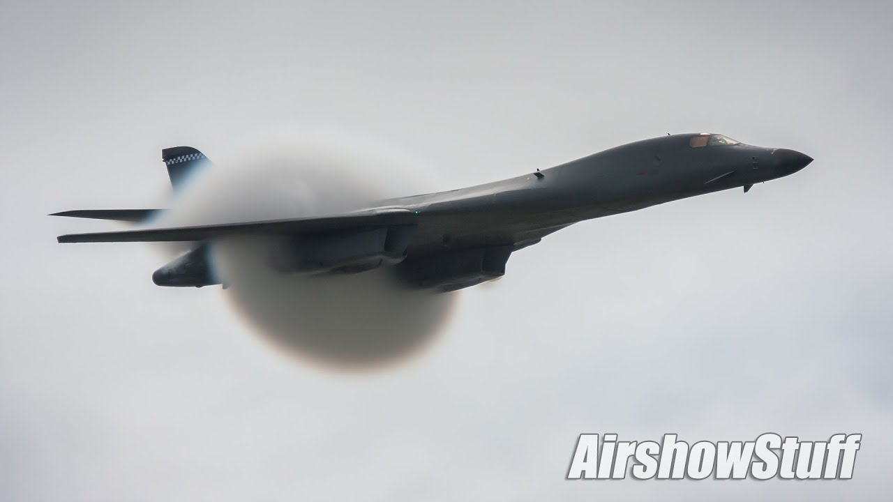 USAF B-2 Spirit and B-1B Lancer Bombers - 2009 Selfridge ... B1 Lancer Supersonic