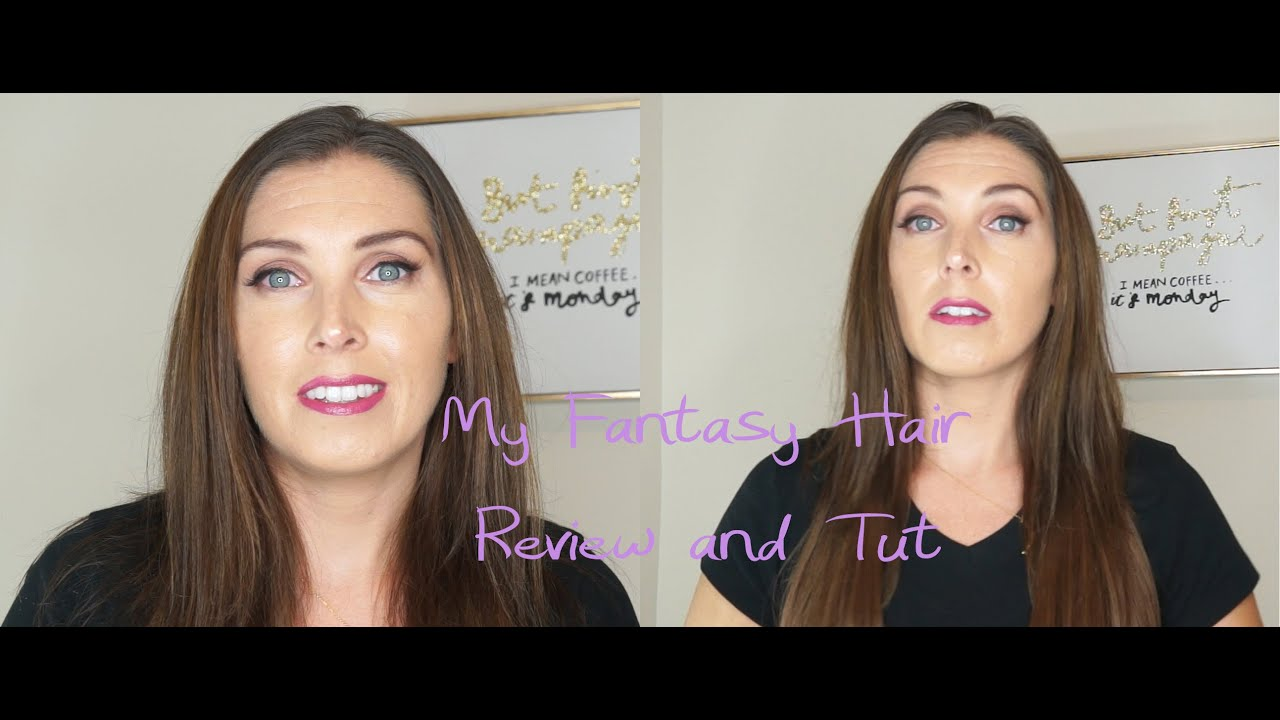 My fantasy hair extensions review and quick tut youtube my fantasy hair extensions review and quick tut pmusecretfo Gallery