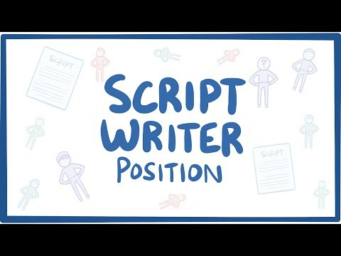 We're looking for script writers!