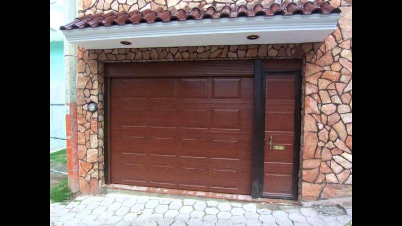 Puertas autom ticas y domos p rez s a de c v zaguanes for Modelos de puertas principales