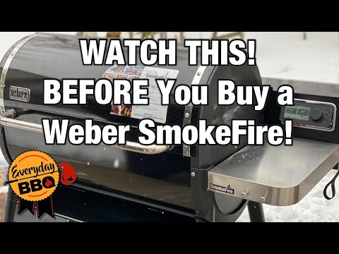 WATCH BEFORE YOU BUY! Weber SmokeFire Pellet Grill Review | Cold Hard TRUTH | Everyday BBQ