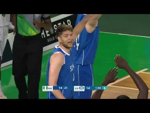 Nigeria V Scotland Commonwealth Games No. 7 (Blue)