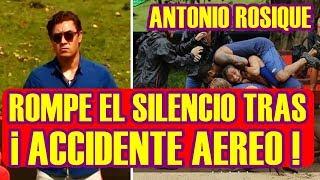ANTONIO ROSIQUE revela a DETALLE todo SOBRE el ACCIDENTE AÉREO en EXATLÒN