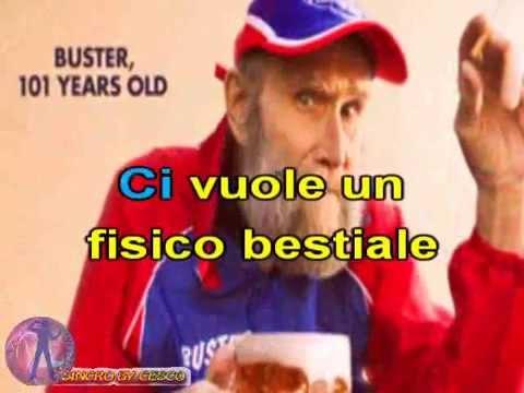 Luca Carboni - Ci vuole un fisico bestiale (karaoke - fair use)