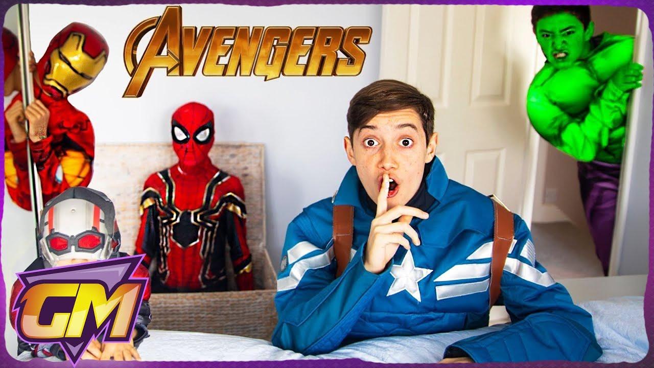 Hide Seek Kids: Avengers Kids Hide And Seek!