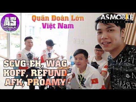 [Free Fire Vlog] Tập Hợp Tất Cả Quân Đoàn Lớn Nhất Việt Nam | AS Mobile