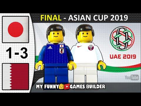 AFC Asian Cup 2019 Final • Japan vs Qatar 1-3 🏆 All Goals Highlights Lego Football (UAE 2019)