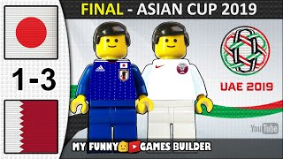 AFC Asian Cup 2019 Final • Japan vs Qatar 1-3 (UAE 2019) All Goals Highlights Lego Football