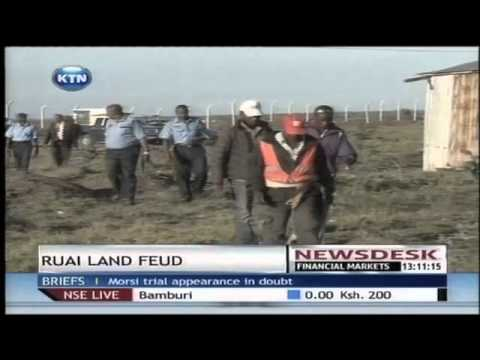 One person killed over land Feud In Ruai area of Nairobi