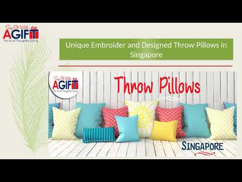Throw Pillows Singapore at Say It With A Gift
