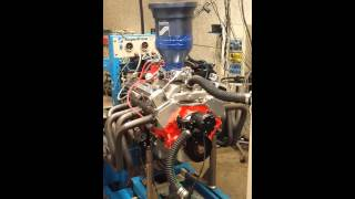 chevy 327 400 HP Dyno Pull