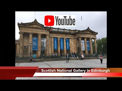 the Scottish National Gallery is home to one of the best collections of fine art in the world