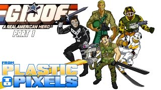 From Plastic to Pixels - G.I. Joe: A Real American Hero (NES) PART 1