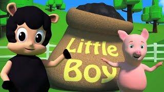 Baa Baa Schwarze Schafe | Vorschul Reim | Schaf Lied | Children Song | Baa Baa Black Sheep