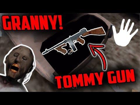 Secret TOMMY GUN in Granny Horror Game (Secret Gun in Granny Horror Game)