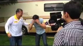Pedro Fernández cumplio el reto #IceBucketChallenge de Marjor…
