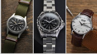 The BEST Swiss Watches Under $1,000 - 14 Watches from Tissot, Hamilton, Doxa, Marathon, and MORE