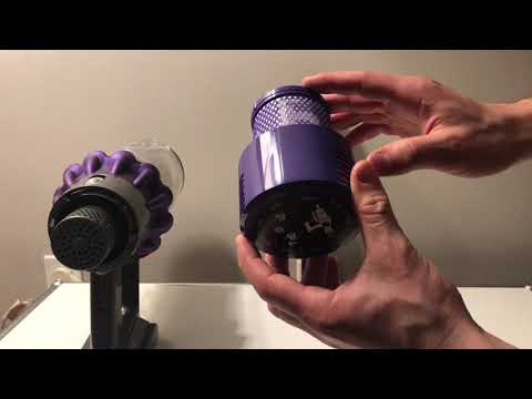 Dyson V10: How to Change and Clean The Filter