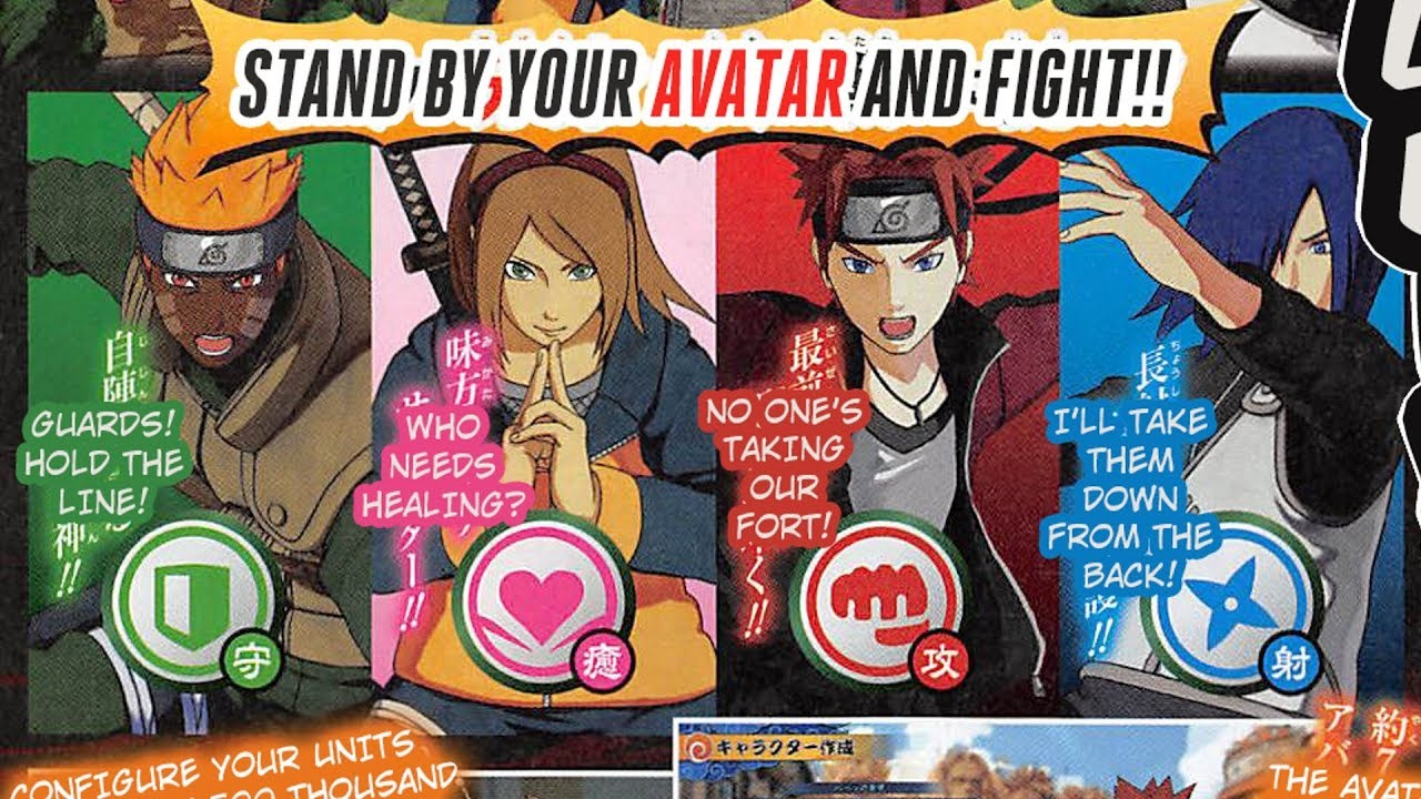 how to create your own naruto character