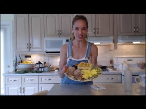 How To Cook Peameal Bacon: The Breakfast Series - Cooking With Kimberly