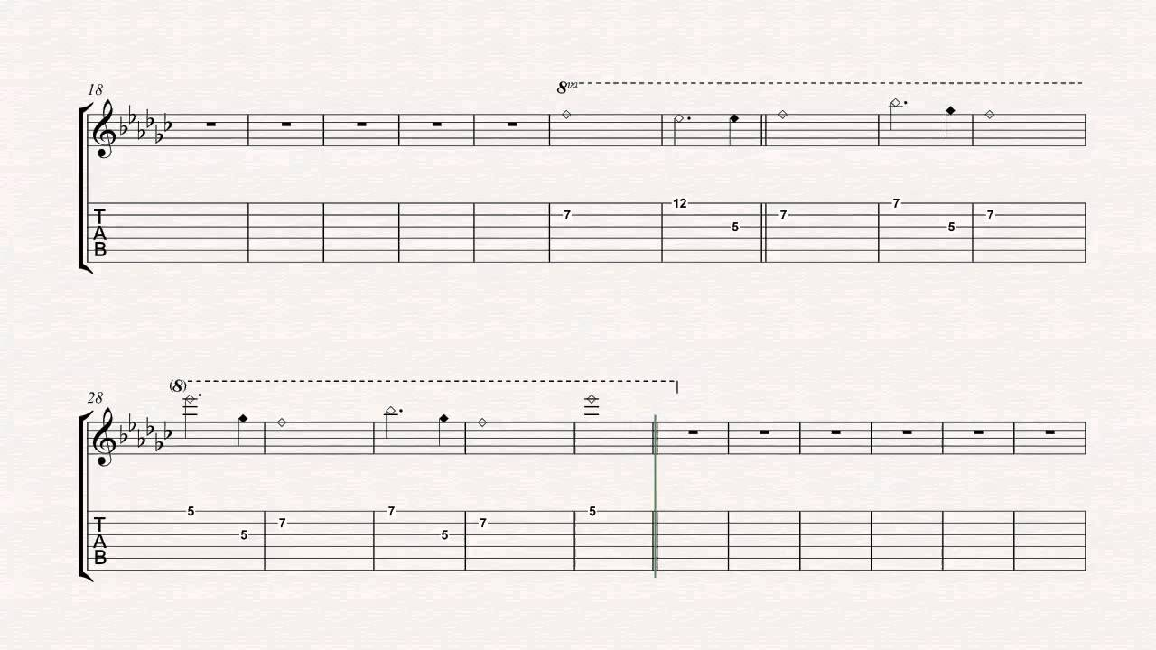 Guitar In The End Linkin Park Sheet Music Chords Vocals