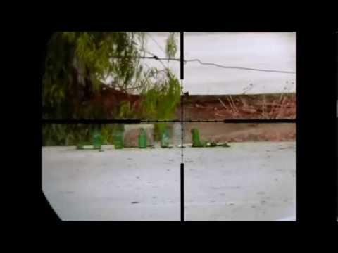 Webley Tracker .22 Shooting in High Speed Video