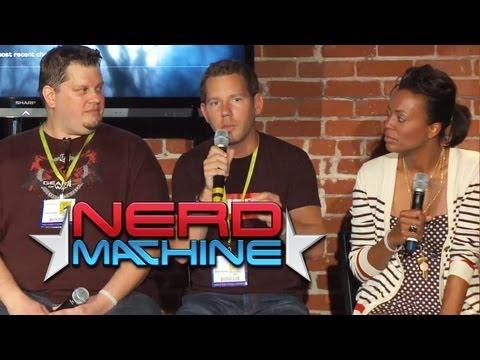 """Gears of War 3"" Conversation with Creator Epic Studios - Nerd HQ (2011) HD - Aisha Tyler"