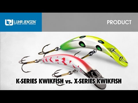 The Differences Between The Luhr-Jensen® K-Series & X-Series Kwikfish®