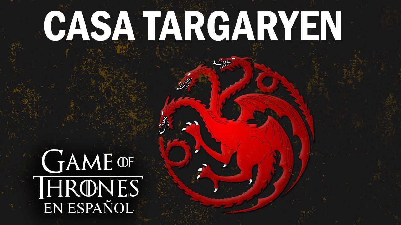 Resultado de imagen para Casa Targaryen.