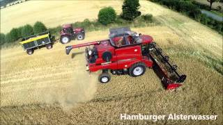 Luftbilder DJI Phantom 2 and Case IH Axial-Flow 9120  10,70m Breite