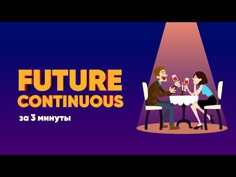 Future continuous видеоурок