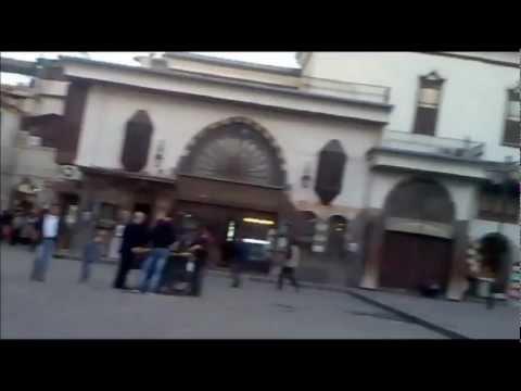 """Old Damascus - Nofarah to Meskiyeh """"Omayad Mosque"""" - Sobhi Mobassaleh ."""