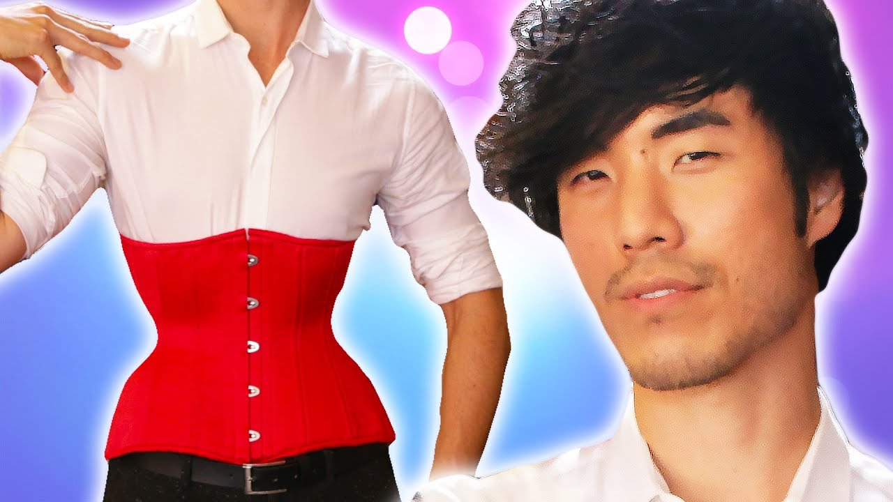 the-try-guys-wear-corsets-for-a-weekend