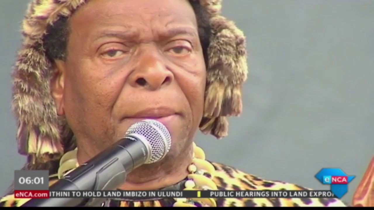 Zulu King on land issue