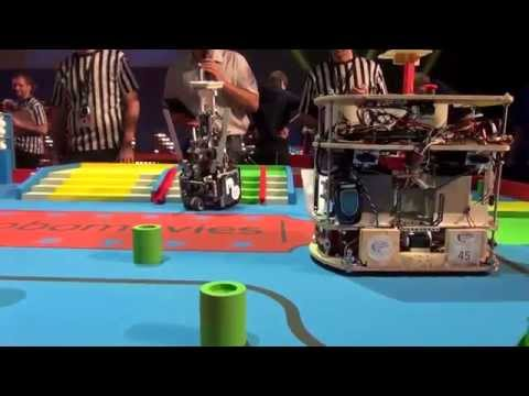 2015 - PM-ROBOTIX (49) vs Onion Samuraïs (5) - Coupe de France Robotique 2015