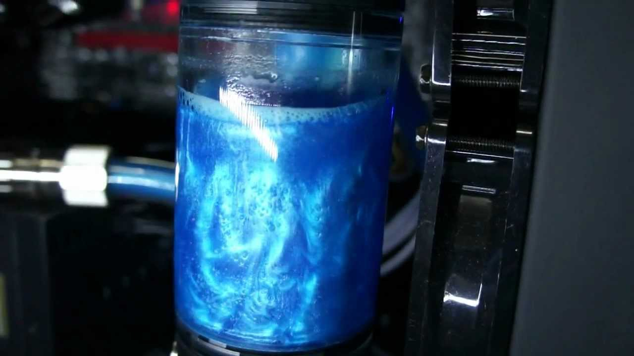 how to make coolant water