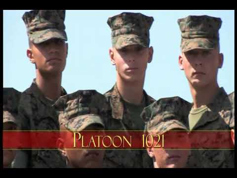 Bravo Company Platoon 1021 (Sept. 2017)