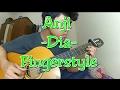 Anji - dia cover fingerstyle gitar video instagram
