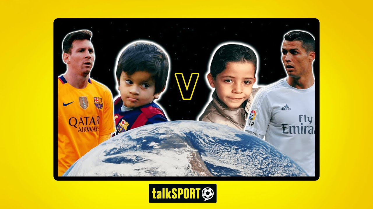Cristiano Ronaldo Jr Vs Thiago Messi