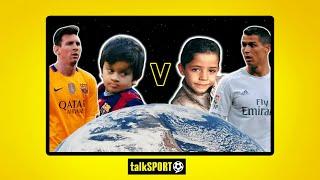 Thiago Messi v Cristiano Ronaldo Jr | SPOOF