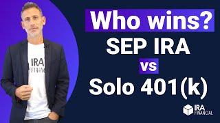 Who wins? SEP IRA vs Solo 401(k)