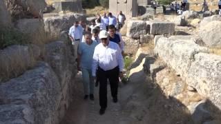 Antalya Valisi Sn Münir Karaloğlu'nun Kaş, Saklıkent Kanyonu, Xanthos, Patara İnceleme ve Gezisi.